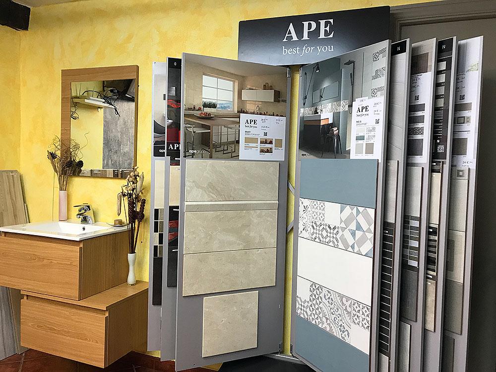 Exposición de reformas y azulejos Elorrio, Durango, Bizkaia